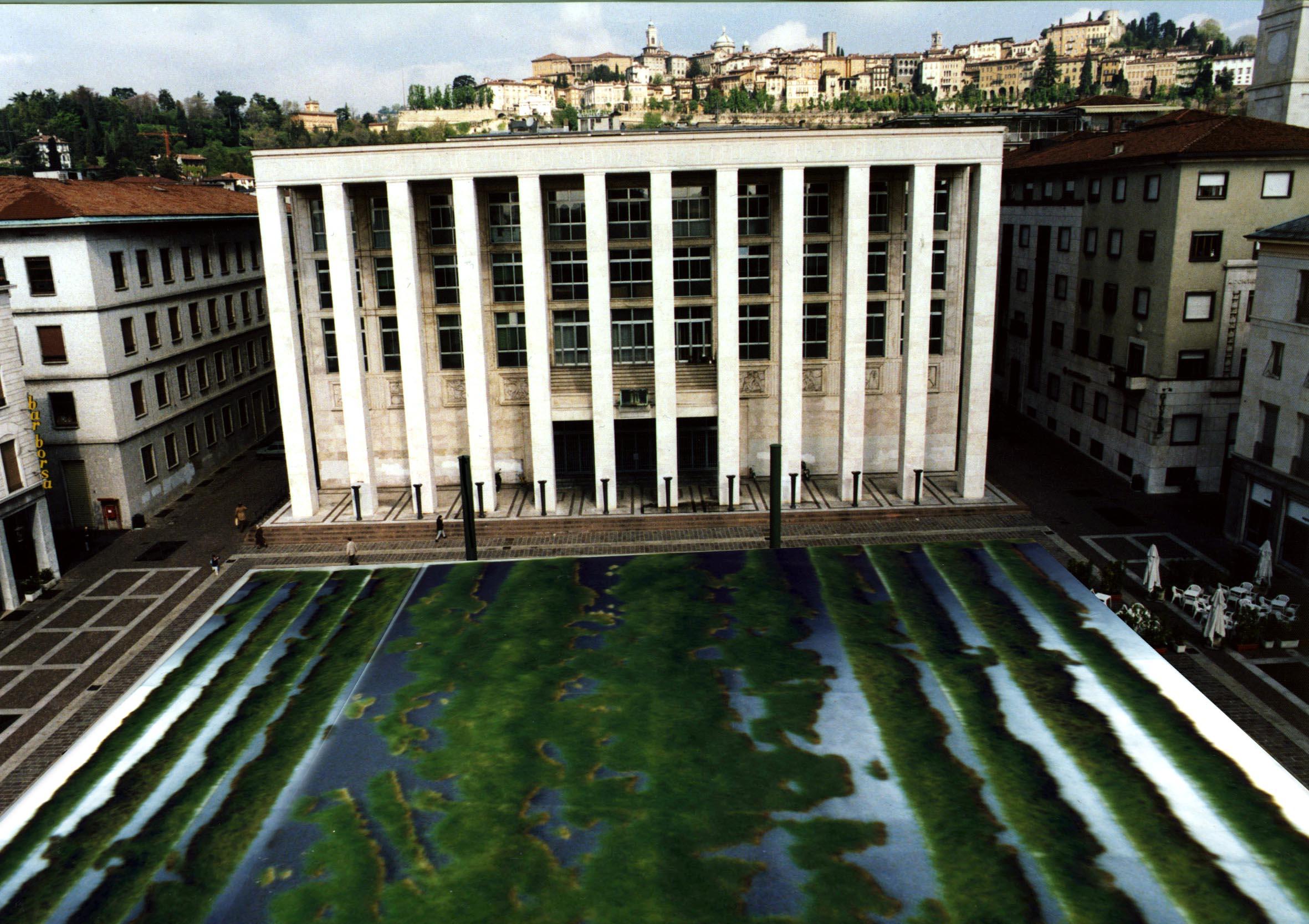 Salvatore Falci, 1990 - 1994, Erba Ponte Sant'Eufemia, ipotesi Piazza della Libertà, Bergamo