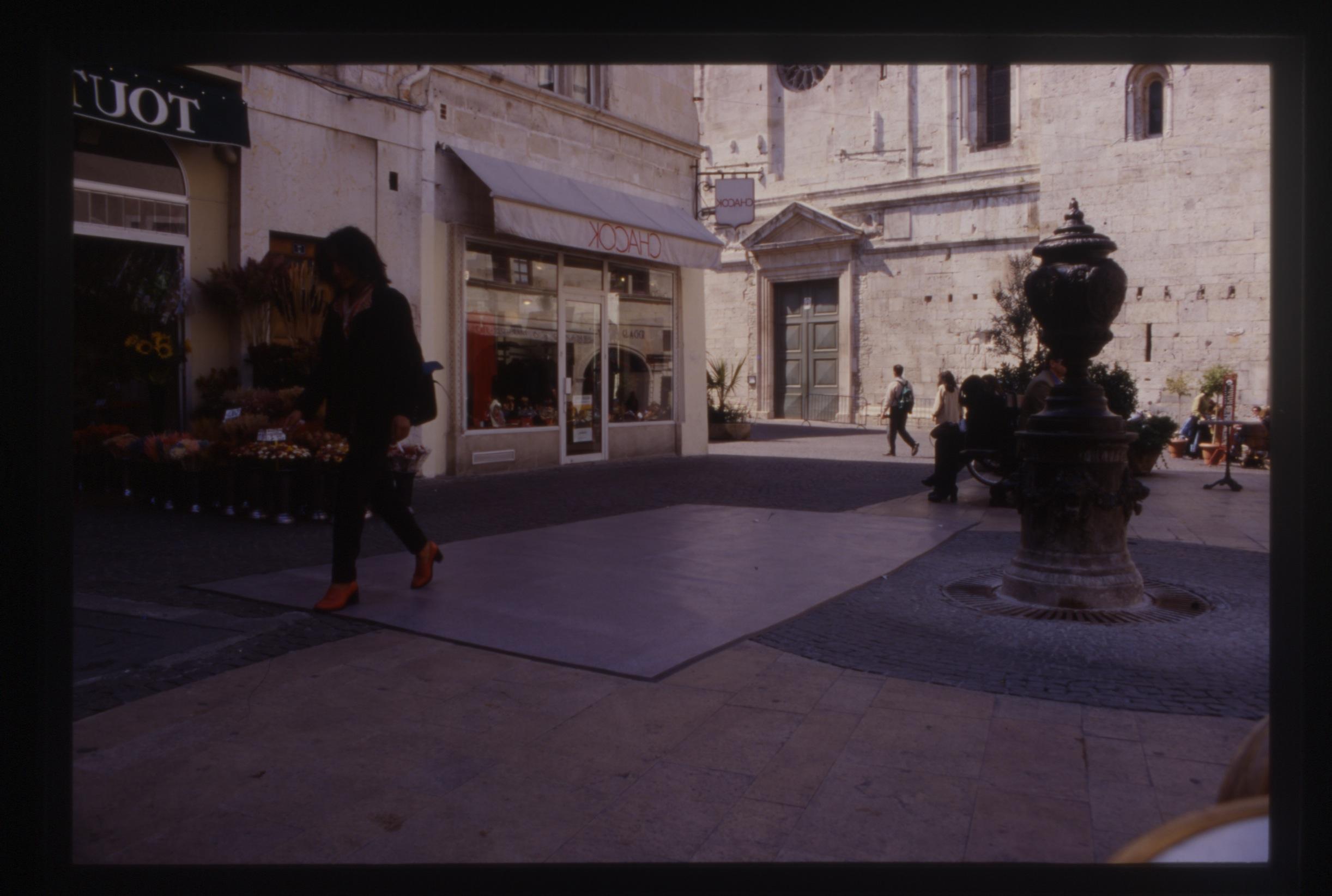 Salvatore Falci, 1994, Striscioni Pressione, Piazza a Nims, in campo