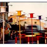 Salvatore Falci, 1997, Gabbiette, Istallazione Urbana