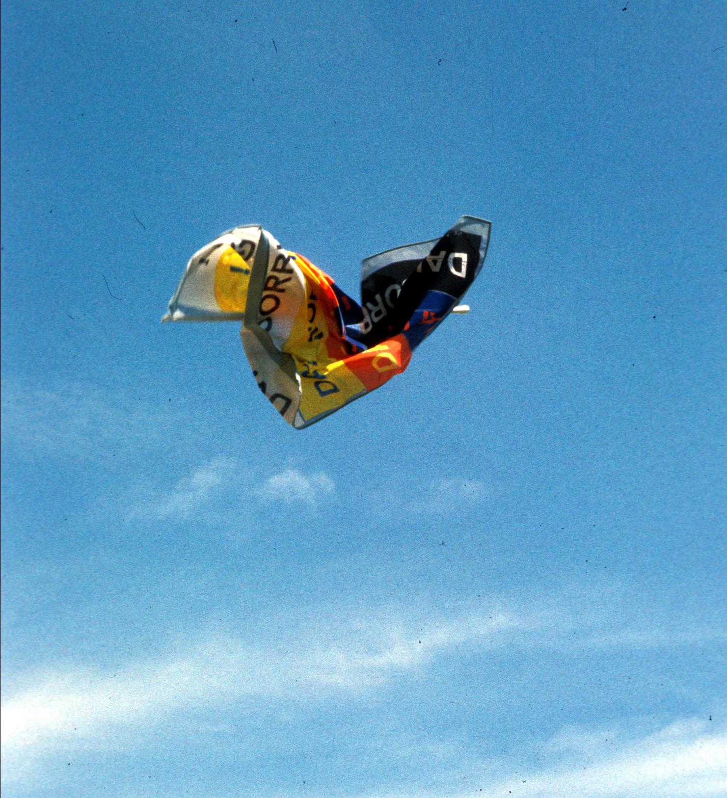 Salvatore Falci, 1998, Dai, Sorridigli, Bandiera Lanciata, Montagnana, (PD) 1999
