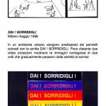 Salvatore Falci, 1998, Dai Sorridigli, Milano, maggio 1998, scheda