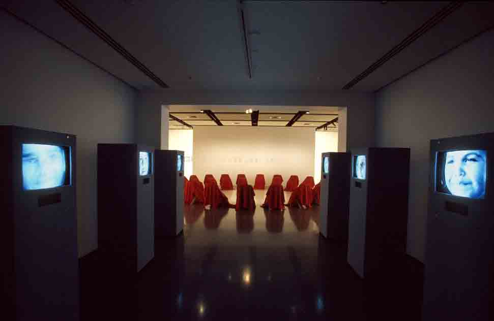 Salvatore Falci, 1998, Silent Communication, Museo Nazionale Perth, 2000