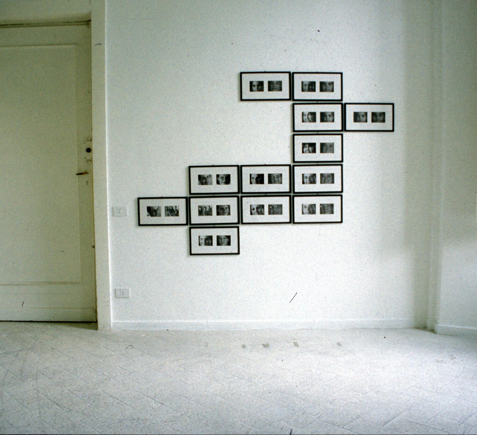 Salvatore Falci, 1998, Silent Communication, foto, Anglosasoni e Anglosassoni, Galleria Casoli Milano, 2000