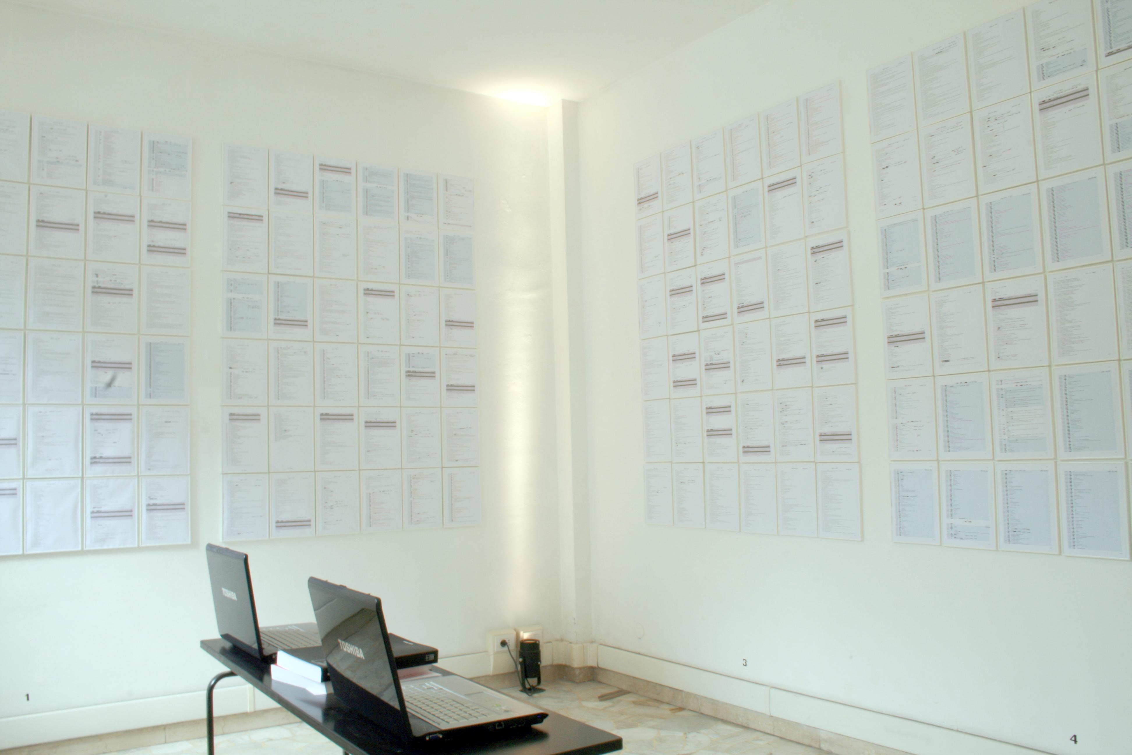 Salvatore Falci, 2006-2008, Ci@o come stai..., 2008, Galleria Diecidue, Milano, 2008 (con Simona Barzaghi)