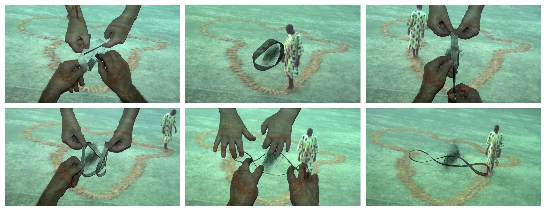 Salvatore Falci, 2012, Arte e Luogo, Unir les Contraires, Ouvrir L'infinì, 3° Paradiso, frames video