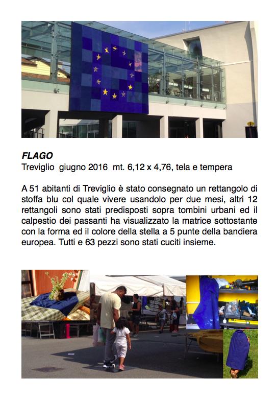 Salvatore Falci, 2016, Flago, Treviglio giugno 2016, scheda.