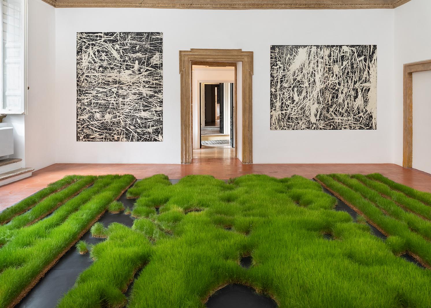 Salvatore Falci, 2019, INSTALLATIONVIEW_CONWITH, Galleria Casoli De Luca, Roma