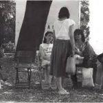 Salvatore Falci, 1983, Sosta 15 Minuti, Installazione antistante Biennale di Venezia, 1984, (con Fontana, Modica, Risitano)