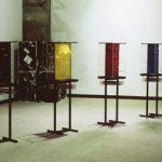 Salvatore Falci, 1988, Casse Venezia Corderie, Stand di Stefano Fontana