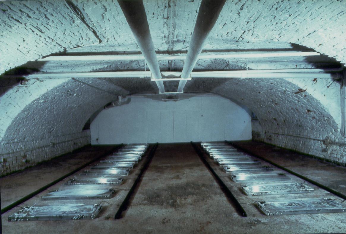 Salvatore Falci, 1990 - 1989, Fogne Parigi, Galleria Casoli, Milano