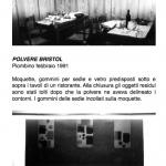 Salvatore Falci, 1991, Polvere Bar Bristol, Piombino febbraio 1991, scheda