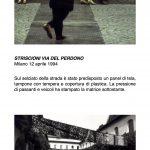 Salvatore Falci, 1994, Striscioni via Del Perdono, Milano, 12 aprile 1994, scheda