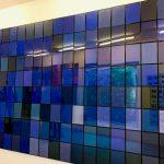 Salvatore Falci, 2013, Klein algoritmo 128, galleria Monopoli, Milano, 2017, 128 elementi 21x29,7, tot cm. 336x237